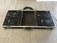 Pioneer CDJ500 MkII (Pair) with Flightcase