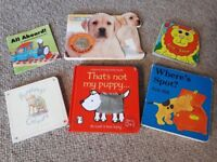 Selection of 6 baby/toddler books