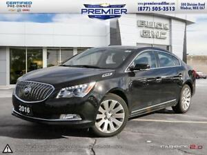 2016 Buick LaCrosse AWD Leather ONE OWNER WITH LEATHER NAVIGATIO