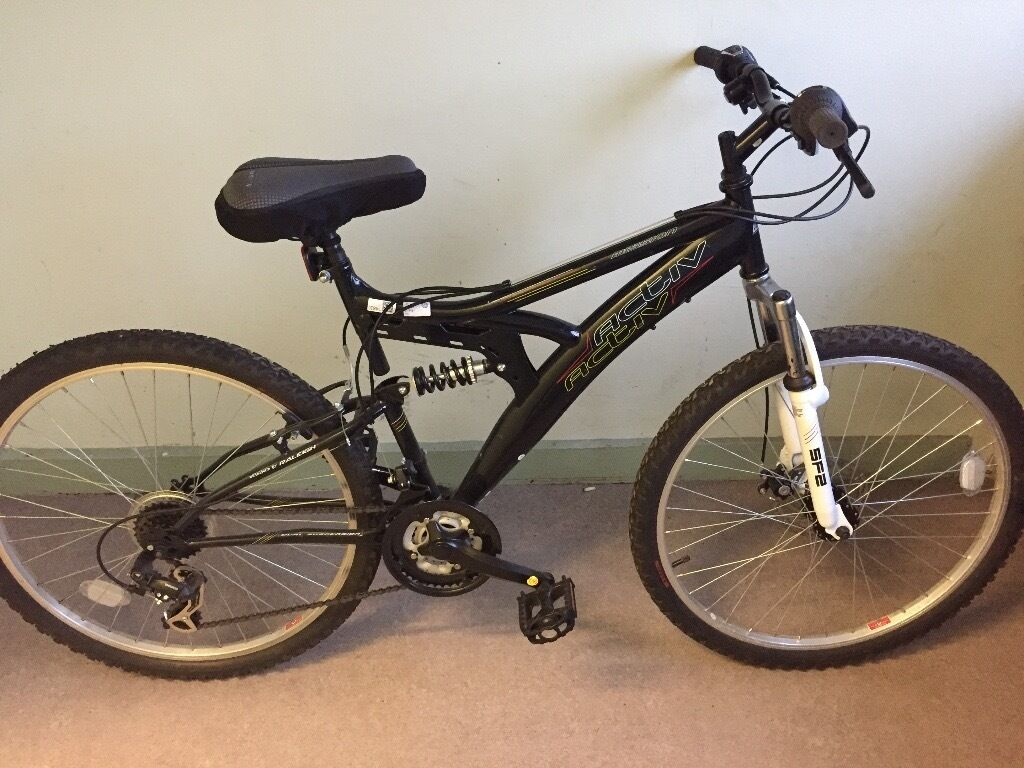 Raleigh Extreme Black Activ Mission Steel Frame Mountain Bike | in ...