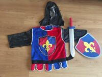 Melissa and Doug knight outfit