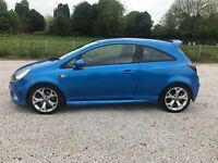 2009 59 VAUXHALL CORSA 1.6i TURBO VXR VXRRACING GENUINE 42K 2 KEYS HISTORY FULL MOT PX SWAPS