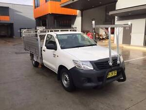 2013 TOYOTA HILUX AUTOMATIC ALLOY TRAY UTE, 1 OWNER,LOG BOOKS Westmead Parramatta Area Preview