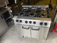 GAS COMMERCIAL CATERING COOKER OVEN FAST FOOD RESTAURANT TAKE AWAY COOK