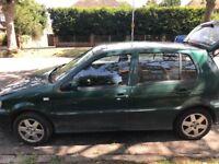 Volkswagen Polo - 1.4 - low mileage - £175