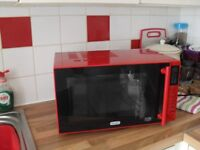 Deloghi microwave,brand new without box 23lt. not required,bargain at £39.99,full retail £84.99
