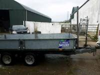 Ifor Williams 12x5ft6 dropside trailer
