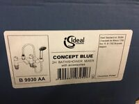 Ideal concept blue bath filler