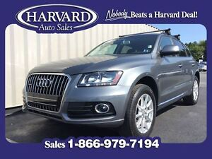 2013 Audi Q5 2.0T Quattro, AWD, Leather, Monsoon Gray