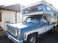 Chevrolet C20 camper special, with original camper body, superb, low mileage