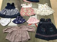 3-6months old baby girls clothing , would suit twins