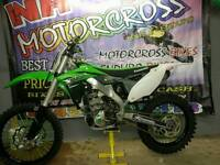 Stunning Kawasaki kxf250 2015 LIKE New