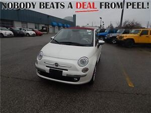 2015 Fiat 500C **CO DEMO**Leather, Convertible only $19,995