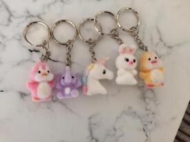 Clair's cute keychains