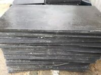 Used Cembrit Jutland roof tiles