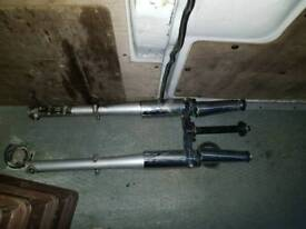 Jinlun JL125-11 front forks and casings.