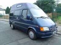 29,000 MILES FULL FORD SERVICE HISTORY, **CAMPERVAN** MOTOR HOME** NEW MOT, ONLY £4,499