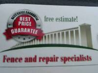 Fence and repair specialists