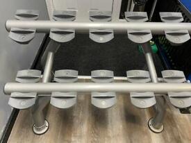 Ziva 5 set dumbbell rack 2 tier
