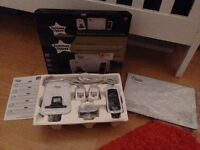AS NEW!!! Tommee Tippee Digital Movement and Sound Monitor 1200 - barely used