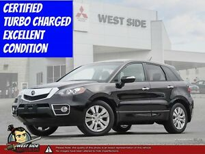 2012 Acura RDX–SiriusXM–Power Sunroof–2.3L Turbo–