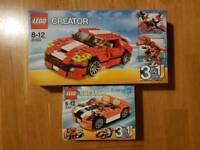 2 x Lego creator sets