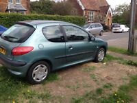 Very good condition Peugeot 206 LX