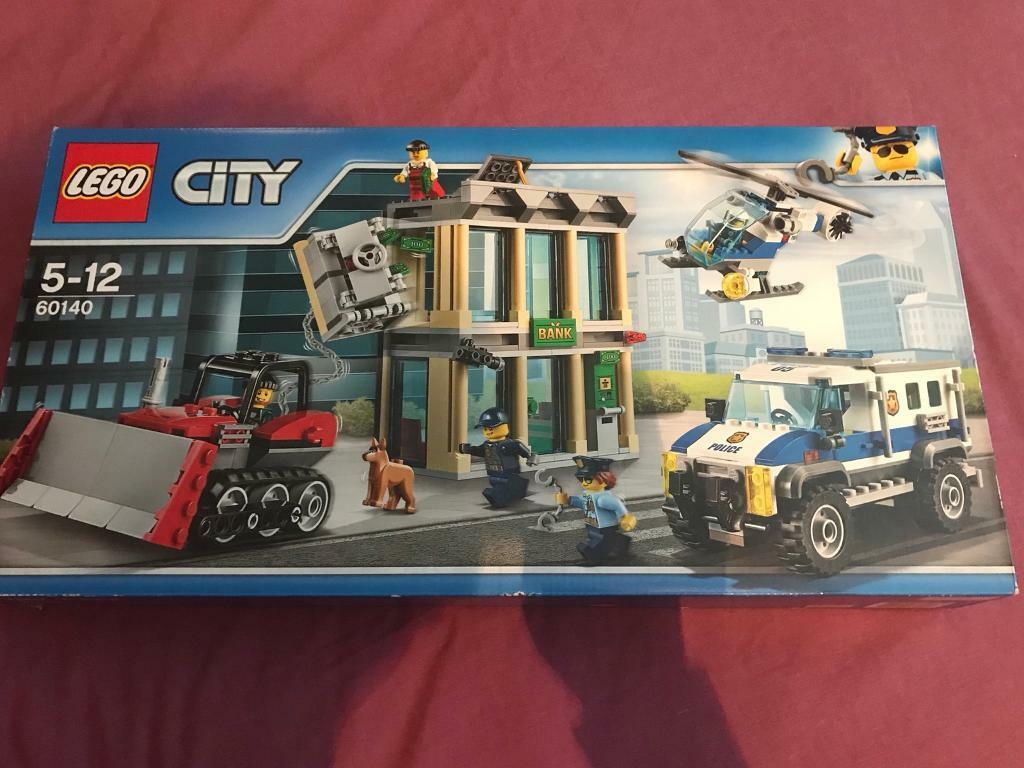 Lego City Bank Break In 60140 New And Sealed In Duddingston
