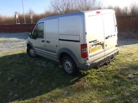 Ford Transit Connect Silver with tow bar