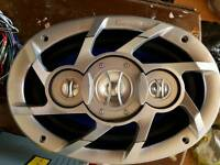 Ministry of sound car speakers and cd player