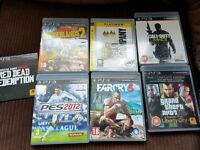 PS3, 2 controllers and 7 games (see pic for games). Only 18 months old, still have box.