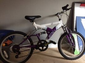 Child's Zinc wave bike (approx 8-13 yrs)
