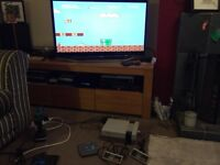Nintendo NES (Original) with 2 games and 2 controllers