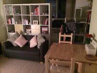 IKEA ULLVI Two-seat sofa bed - Ransta Dark Grey