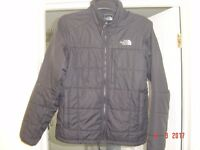 NORTH FACE JACKET, MEN'S SMALL, BLACK, QUILTED, GOOD CONDITION £25