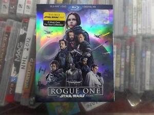 Brand New Rogue One: A Star Wars Story [Blu-ray + DVD + Digital HD]
