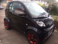 Fantastic Black SMART FORTWO PULSE 61 S-A, 698cc, Only 66435 miles, Road tax only £30 per year,