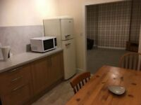 Large 2 bedroomed part furnished flat. Dumfries Town Centre