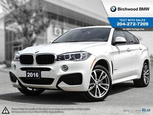 2016 BMW X6 Xdrive35i M Sport, Premium Package Enhanced! Local