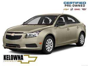 2014 Chevrolet Cruze 2LT, Heated Leather, Reverse Cam, Sunroof