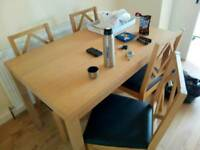 Dining Table (Virtually as new)
