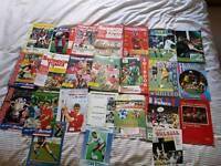 68 Swindon Town football programmes 1980s/1990s