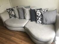 Dfs sofa - three seater and two seater