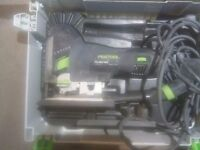 festool PS 400 EBQ jigsaw with case 240V