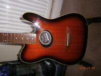 Fender Tele acoustic guitar