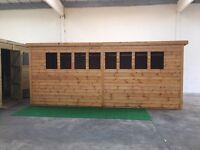 Garden sheds and summer houses at shed heads