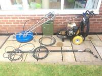 6.5hp loncin jet washer / power washer