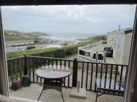 Swift Bordeaux 6 berth 2011 model in excellent condition with amazing sea views at Bigbury Bay