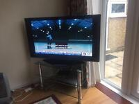 LCD Plasma tv with stand Panasonic 40 inches