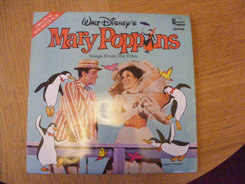 Collectors Vinyl Original Soundtrack Mary Poppins